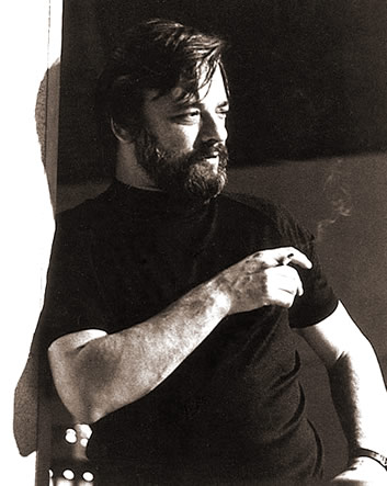 Publicity portrait of Stephen Sondheim, c. 1970.