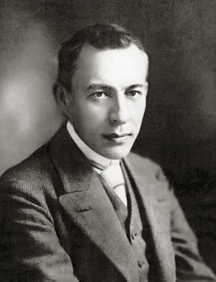 Portrait of Sergei Rachmaninoff, c. 1901.