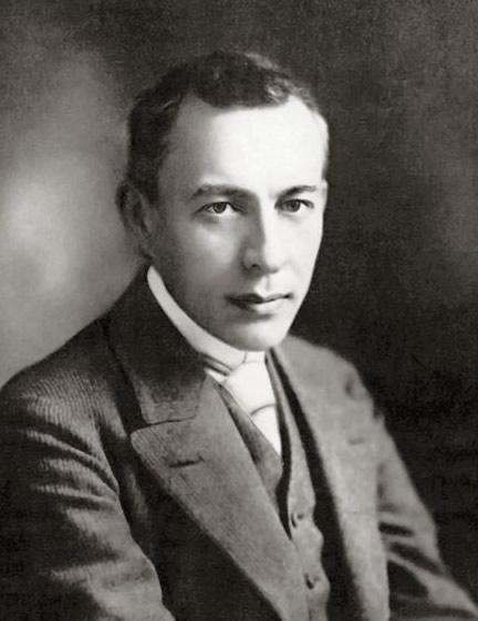 Portrait of Sergei Rachmaninoff, c. 1901.